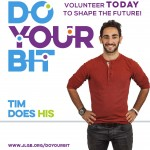 The 'Do Your Bit' campaign poster, featuring Tim